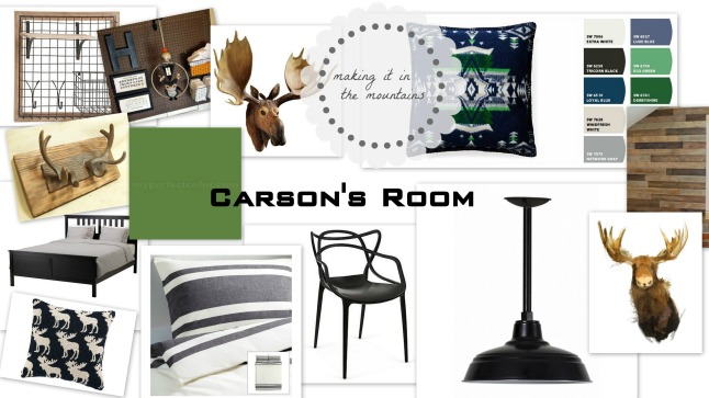 Carson's Room Board | making it in the mountains