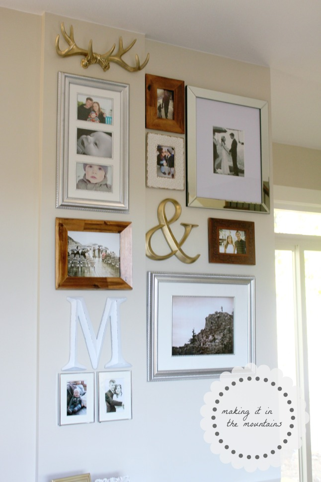 DIY Gallery Wall @ making it in the mountains
