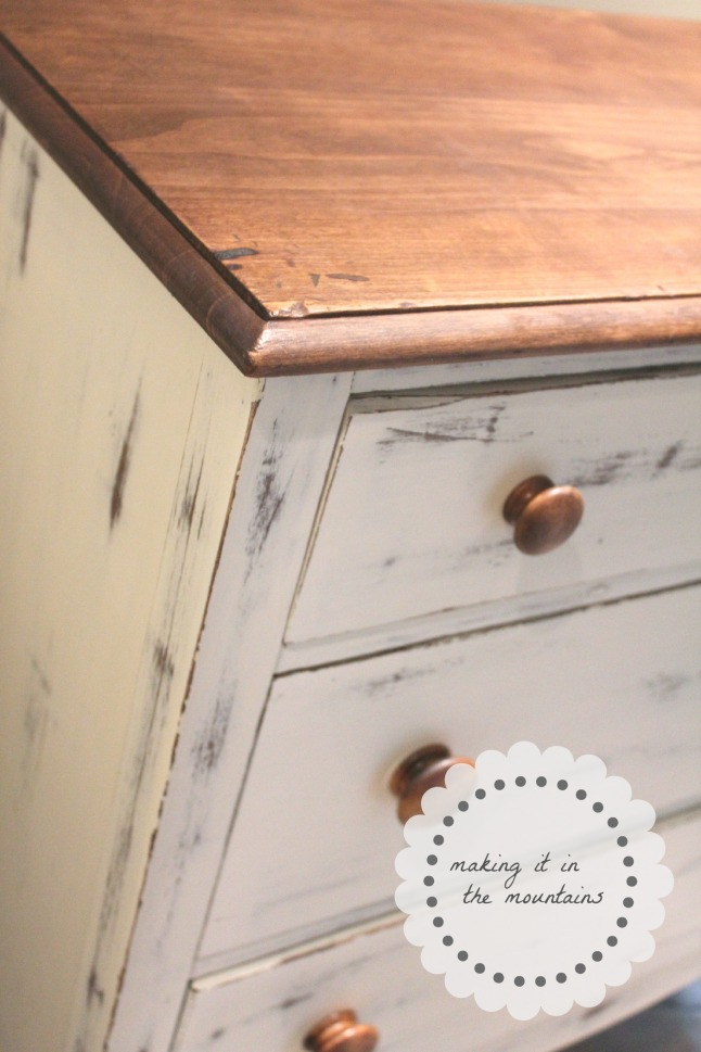 Dresser Makeover @ making it in the mountains