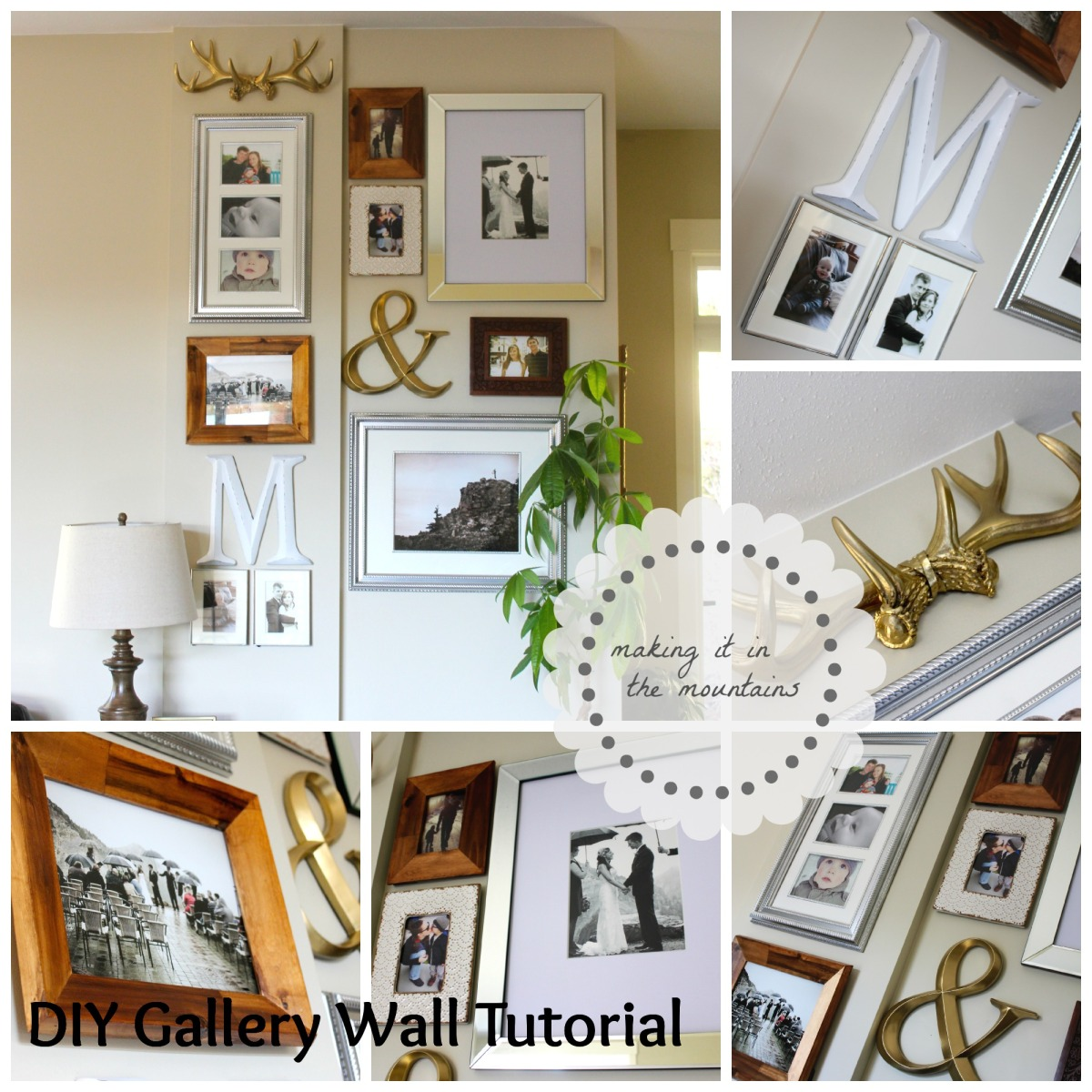DIY Gallery Wall Tutorial
